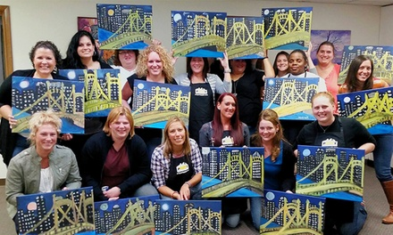 $23 for BYOB Paint Night for One at Art Party Pittsburgh (Up to $45 Value)