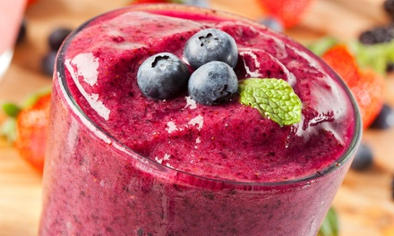 $6 for $10 Worth of Smoothies — Two Hands Crêpe & Juice Bar