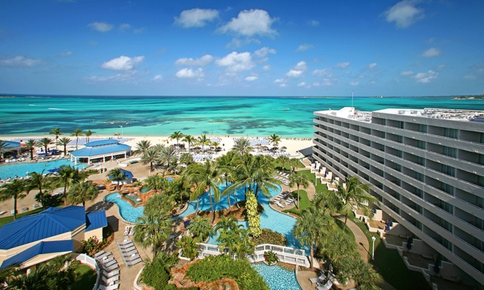 All inclusive meli nassau beach stay w airfare from for Round the world trips all inclusive