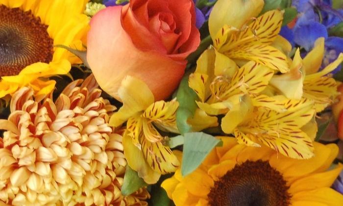 The Florist - Pensacola / Emerald Coast: $28 for $50 Groupon — The Florist