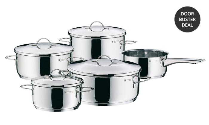 WMF Casa Stainless Steel 9-Piece Cookware Set: WMF Casa Stainless Steel 9-Piece Cookware Set. Free Returns.