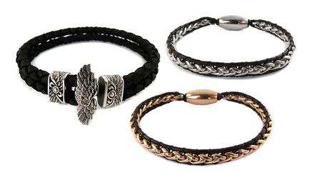 Men's Stainless Steel Bracelets from $24.99–$29.99