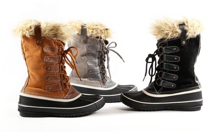One Step Up Women's Winter Boot. Multiple Options Available. Free Returns.