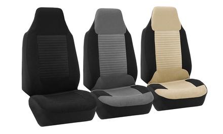 Premium Fabric Bucket Seat Covers (Set of 2)