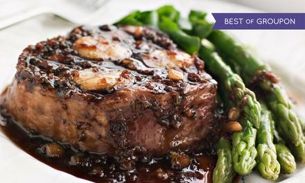 $35 for $50 Worth of Steak-House Cuisine and Drinks for Lunch or Dinner at Steak & Grape Restaurant