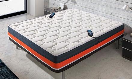 Colchón ECO DE 3D Baicent con lavanda, viscolástica y función de masaje