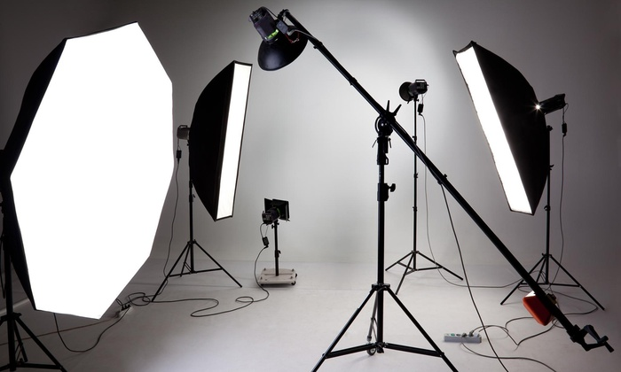 Mvp Studios - Bedford - Stuyvesant: 30-Minute Studio Photo Shoot with Retouched Digital Images from M.V.P Studios (44% Off)