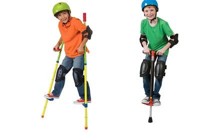 groupon daily deal - Alex Ready, Set, Pogo or Ready, Set, Stilts Kit. Free Returns.