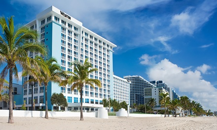 Groupon Deal: Stay with Optional Dining Credit and Wifi at The Westin Fort Lauderdale Beach Resort in Florida; Dates into September