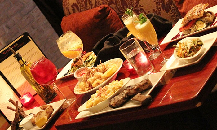 Waterstone Bar & Grille - Downtown: $21 for $40 Worth of Mediterranean Cuisine at Waterstone Bar & Grille