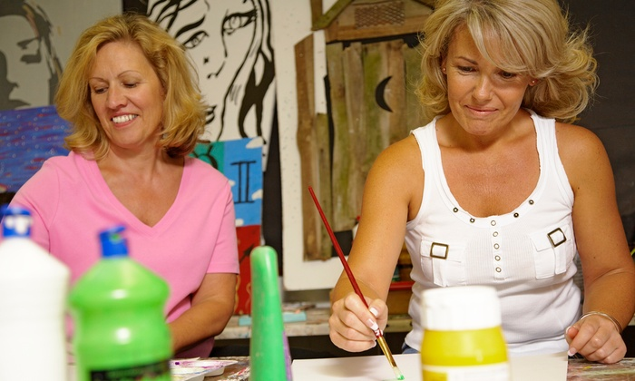 The Thirsty Brush - Lookout Valley - Lookout Mountain: One 2.5-Hour Paint and Sip Class for One or Two at The Thirsty Brush (Up to 50% Off)