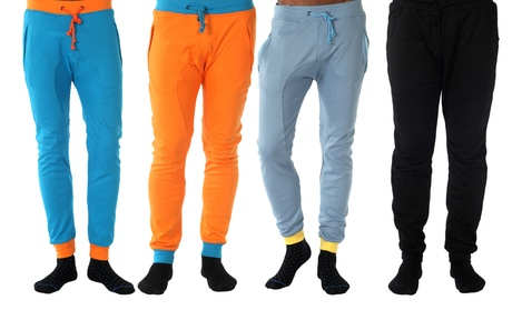 4 Pack of Mens Slim Fit Joggers