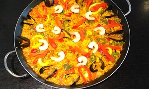 La Taberna: Paella or Tapas with a Jug of Sangria for Two or Four at La Taberna (Up to 50% Off)