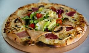 A la Tradizza: Pizza au choix, Tiramisu et café Italien pour 2 personnes à 24,90 € à la pizzeria A la Tradizza