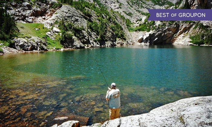 Kirk's Fly Shop - Estes Park: $89 for a Four-Hour Guided Fly-Fishing Trip from Kirk's Fly Shop ($185 Value)