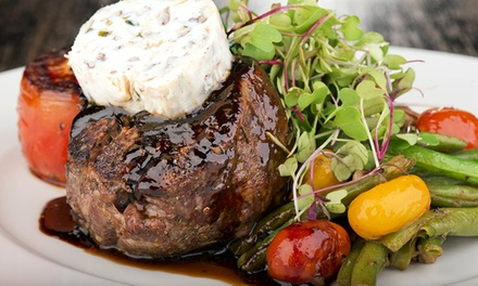 Steaks, Seafood, and Farm-to-Table Cuisine at Andrew's 228 (Up to 45% Off). Two Options Available.