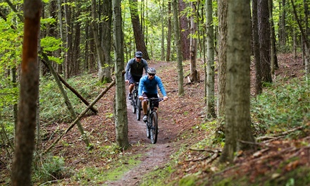 Half-Day, Cross-Country Mountain Bike Ride with Bike Rental for 2 or 4 at Hardwood Ski and Bike (Up to 70% Off)