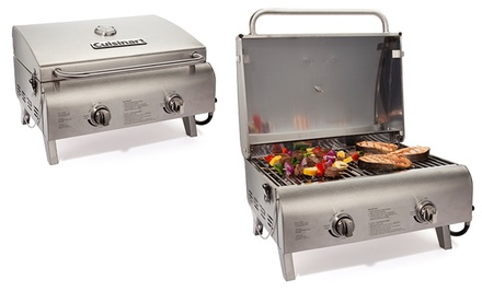 groupon daily deal - Cuisinart Chef's Style Tabletop Grill. Free Returns.
