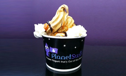 Frozen Yogurt Treats or Birthday-Party Package at Planet Swirl of Ridgewood (Up to 52% Off)