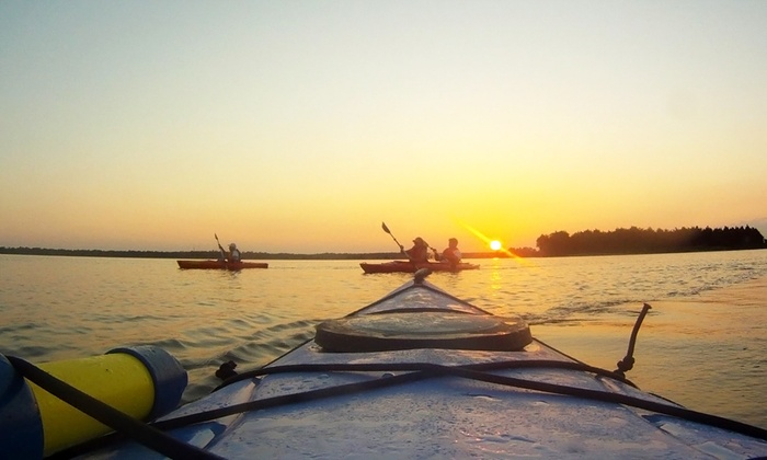 Mahanaim Adventures - Wilmington: Sunset Kayaking Trip with a Picnic Dinner for Two or Four from Mahanaim Adventures (Up to 52% Off)