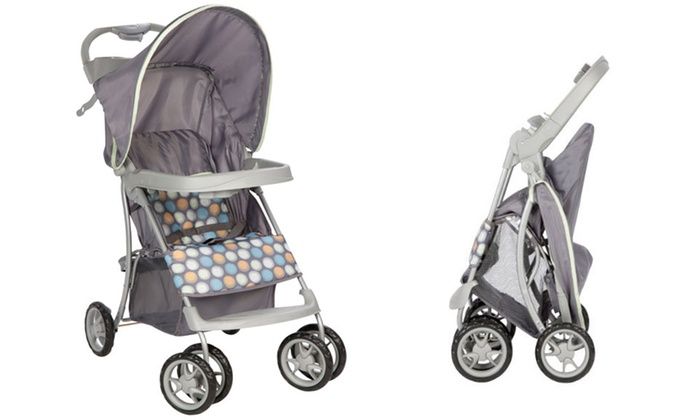 Cosco Sprinter Stroller with Ikat Dot Print