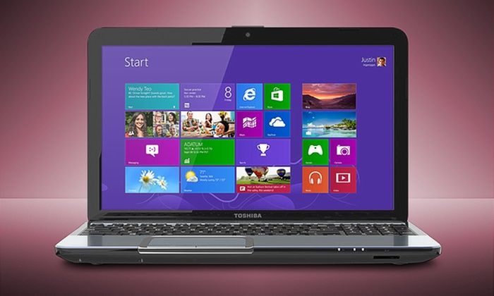 "15.6"" Toshiba Satellite Laptop: $509.99 for a Toshiba Satellite S855-S5378B (Manufacturer Refurbished) ($769.99 List Price). Free Shipping and Returns."