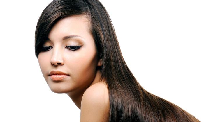 Megan Bushman at Orange Salon - Vista: Permanent Hair-Straightening Treatment from Megan Bushman at Orange Salon (58% Off)