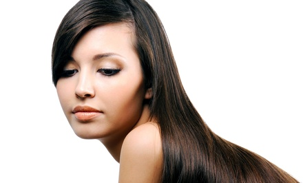 Permanent Hair-Straightening Treatment from Megan Bushman at Orange Salon (58% Off)