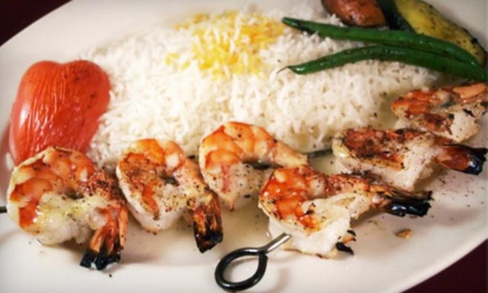 Skewers Kabob House - Modesto: $10 for $20 Worth of Mediterranean Cuisine at Skewers Kabob House