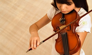 Intermezzo Academy of Music, LLC: Eight Group Violin Lessons with Optional Private Lesson at Intermezzo Academy of Music, LLC (Up to 77% Off)