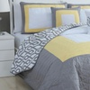 Color-Block Quilt Set (5-Piece)
