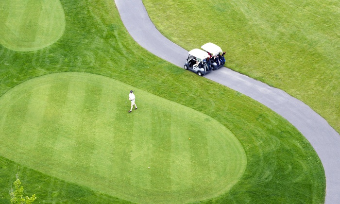Timber Trace Golf Club - Pinckney: 18-Hole Round of Golf for Two or Four with Cart at Timber Trace Golf Club (Up to 51% Off)