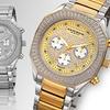 Akribos XXIV Men's Chronograph Watch with Octagon Case