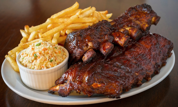 SmoQ - SmoQ: Rib Dinner for Two or Barbecue During Lunch at SmoQ (Up to 40% Off)