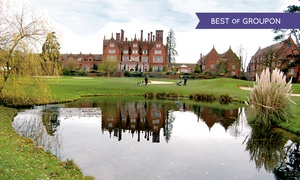 Dunston Hall - Golf & Spa Resort: One or Two 18-Hole Rounds of Golf with a Bacon Roll and a Hot Drink for Two or Four at Dunston Hall