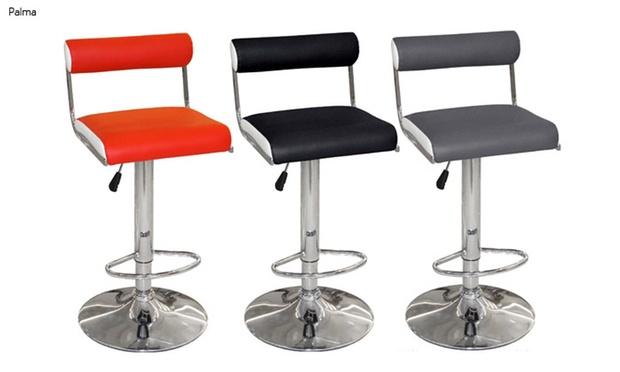 tabourets de bar t lescopiques groupon shopping. Black Bedroom Furniture Sets. Home Design Ideas
