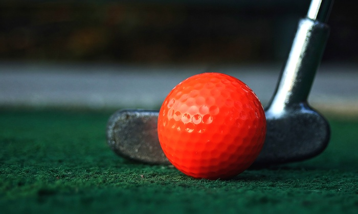 Round of Mini Golf for 2, 3, 4, 6, or 10 at Puttville Indoor Mini Golf (50% Off)