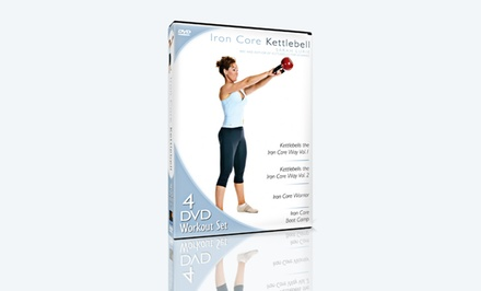Iron Core Kettlebell Workout DVD 4-Pack