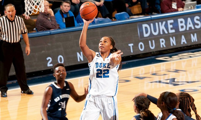 Duke Women's Basketball - Cameron Indoor Stadium: $50 for Duke Women's Basketball Game Package for Four at Cameron Indoor Stadium on February 2 or 10 ($87 Value)