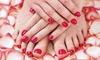 Beauty & Nails (Milano) - San Felice Segrate: 3 o 5 sedute di manicure e pedicure con smalto semipermanente al centro Beauty & Nails (sconto fino a 85%)