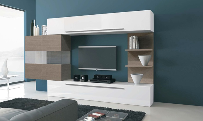 Parete porta TV di design | Groupon Goods