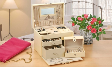 Fully-Lined Jewellery Case
