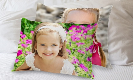 Custom Photo Pillowcase from MailPix