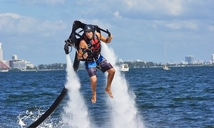 Relentless Watersports: Two-Hour Jetpack or Fly Board Lesson for One or Two at Relentless Watersports (Up to 45% Off)