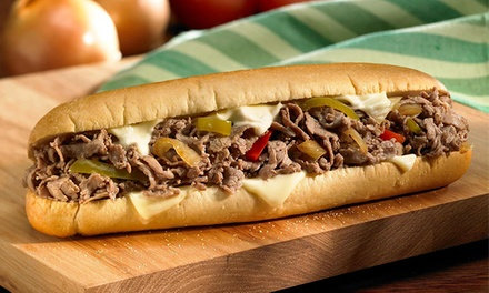 Sandwiches at Philly's Best (Up to 50% Off). Two Options Available.