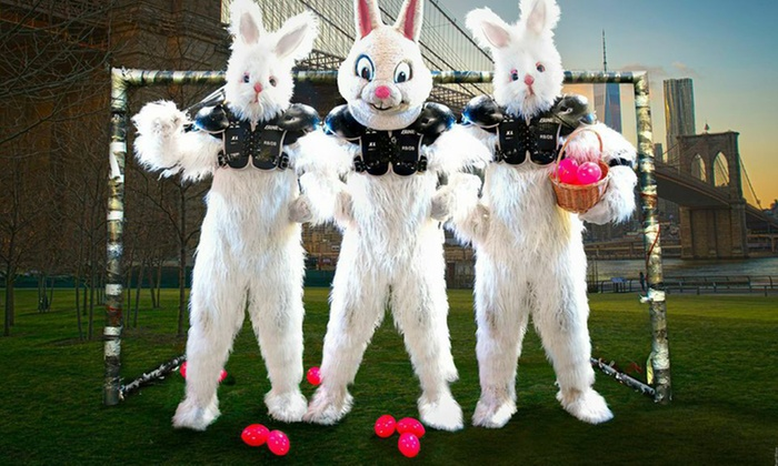 Full Bunny Contact - The Clemente: Entry for Two or VIP Pass to Full Bunny Contact Extreme Egg Hunt & Insane Easter Carnival (Up to 50% Off)