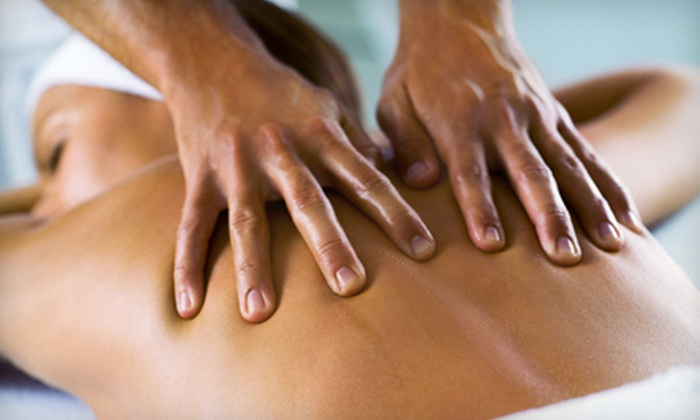 Physical Medicine Associates - Steeple Run: One or Three 45-Minute Therapeutic Deep-Tissue Massages with Infrared Therapy at Physical Medicine Associates (88% Off)
