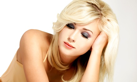 Haircut and Blow-Dry with Optional All-Over Color at Lili.s Salon (Up to 54% Off)