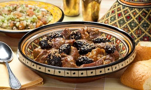 Arabian Nites: Two-Course Middle Eastern Meal for Up to Six at Arabian Nites (Up to 48% Off)