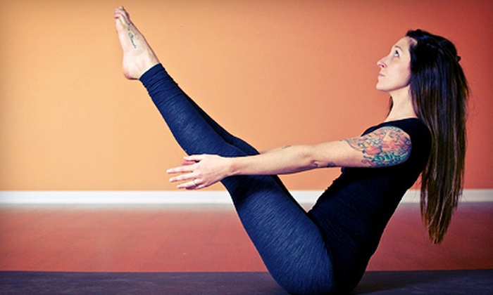 Yoga Eight - Meadows: 10 or 20 Classes at Yoga Eight (Up to 71% Off)